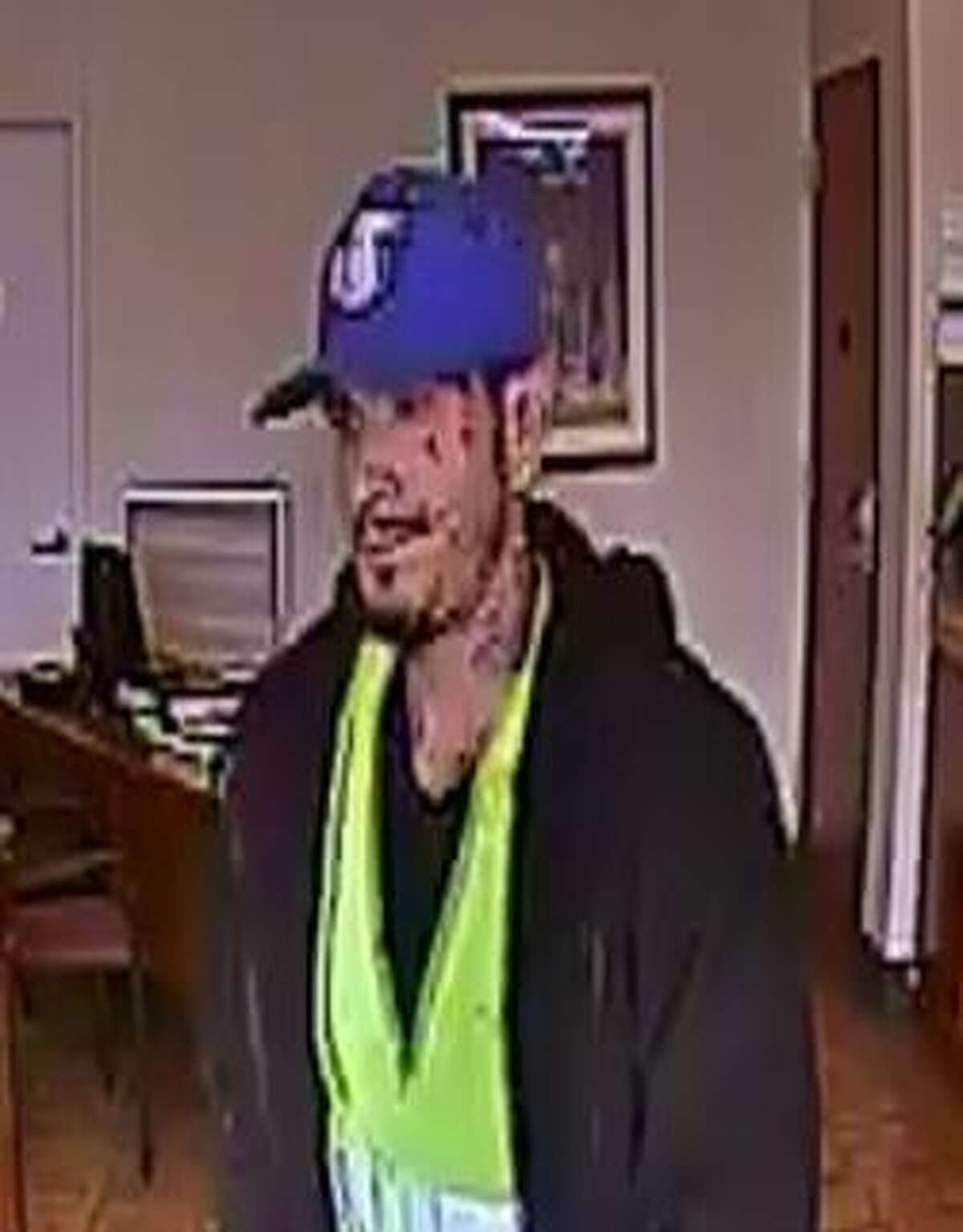 Jan. 19, 2017: A BBVA Compass Bank located on the 1000 block of Goliad Road was robbed after the suspect walked up to the clerk and handed her a note reading,