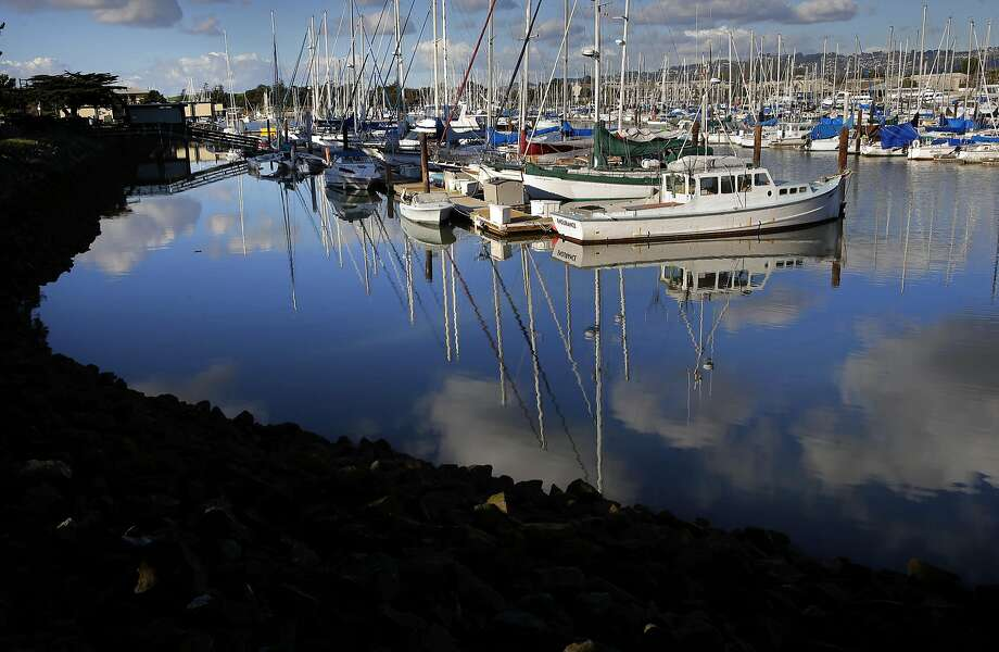 A ferry ran aground near the Berkeley Marina, pictured here in January 2017. Photo: Michael Macor, The Chronicle