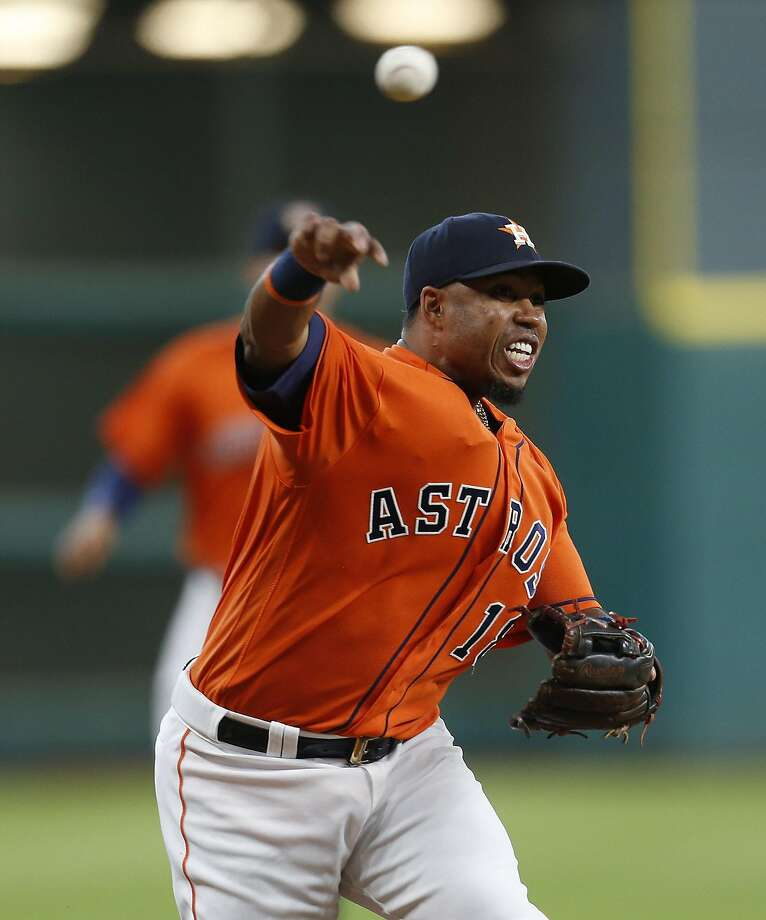 Luis Valbuena missed the last two months of last season with a hamstring injury. Photo: Karen Warren, Houston Chronicle