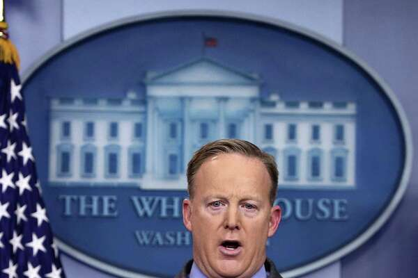 Obviously on his boss' orders, White House Press Secretary Sean Spicer accused the media of falsely reporting on the inauguration's crowd size, an assertion demonstrably untrue. How will President Trump react to bad news on his watch? By shooting the messenger, of course.