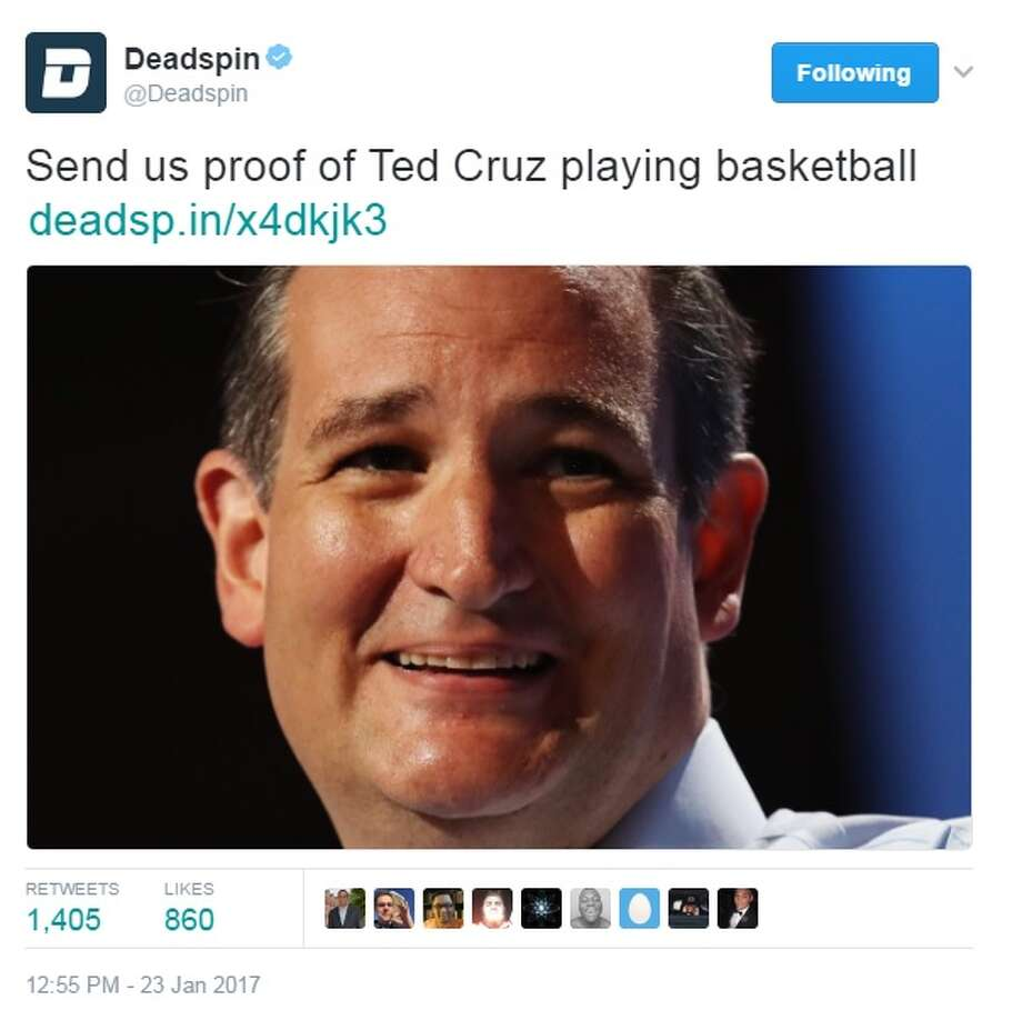 Ted Cruz Quotes Texas Sented Cruz Made The Ultimate Grayson Allen Lookalike