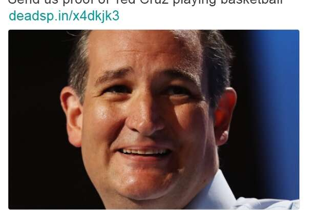 Deadspin and Texas Sen. Ted Cruz had an interesting exchange on Twitter on Jan. 24, 2017.  