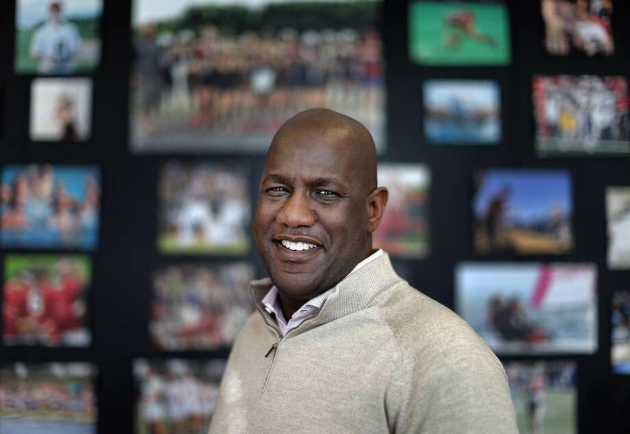 Stanford Athletic Director Bernard Muir, at Stanford University in Stanford, Calif., on Tuesday, January 24, 2017. Photo: Carlos Avila Gonzalez, The Chronicle