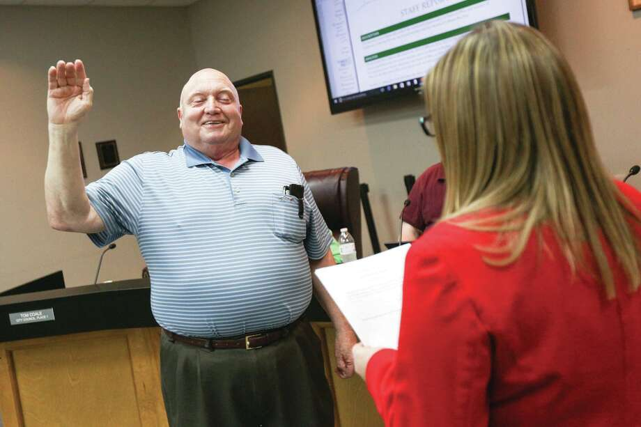 After more than six years serving on the Oak Ridge North City Council, Tom Coale is stepping down from his position. Photo: Michael Minasi, Photographer / Conroe Courier