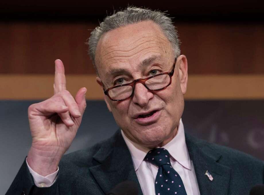 Senate Minority Leader Charles Schumer, D-N.Y. Photo: J. Scott Applewhite / AP