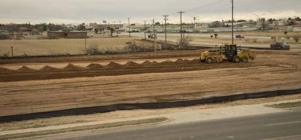 Construction has started Tuesday 01-25-17 on the land at Loop 250 and Hwy 191 for the fourth Chick-fil-A site in Midland. Tim Fischer/Reporter-Telegram