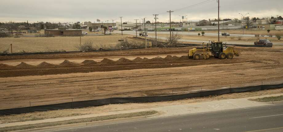 Construction has started Tuesday 01-25-17 on the land at Loop 250 and Hwy 191 for the fourth Chick-fil-A site in Midland. Tim Fischer/Reporter-Telegram Photo: Tim Fischer/Midland Reporter-Telegram