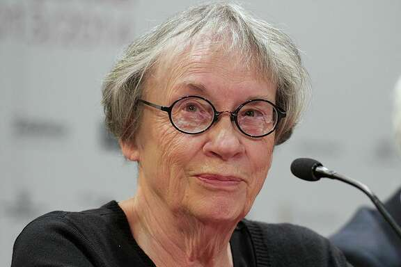 MADRID, SPAIN - JANUARY 27:   Writer Annie Proulx attends the  'Brokeback Mountain' Opera press conference at the Royal Theatre on  January 27, 2014 in Madrid, Spain.  (Photo by Carlos Alvarez/Getty  Images)