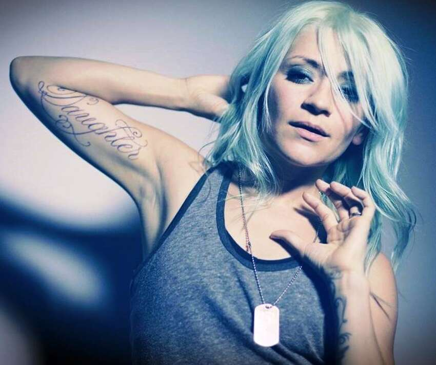 The former singer for Texas rockers Flyleaf, Sturm is back in town, still touring behind her solo debut
