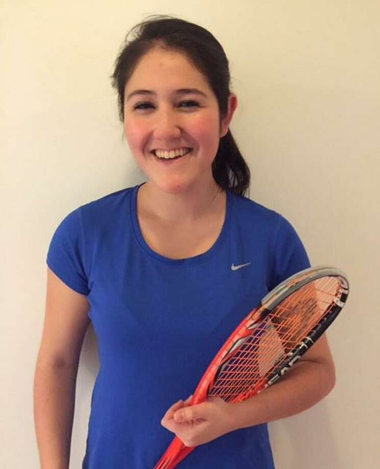 Darien squash captain and No. 1 player, Mia Dursht, has been recognized as the FCIAC Scholar-Athlete of the Month. This award is presented by the Commissioner of the Fairfield County Interscholastic Conference to recognize student athletes that demonstrate outstanding sportsmanship as well as outstanding academic performance. Dursht, a multi-year captain, exhibited leadership qualities including, being a positive role model on and off the court, the ability to help a teammate overcome adversity, a commitment to self-improvement and putting the needs of the team before herself. Photo: Contributed Photo / Darien News contributed