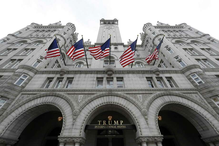 The Trump International Hotel in Washington, D.C., Photo: Alex Brandon /Associated Press / Copyright 2016 The Associated Press. All rights reserved.