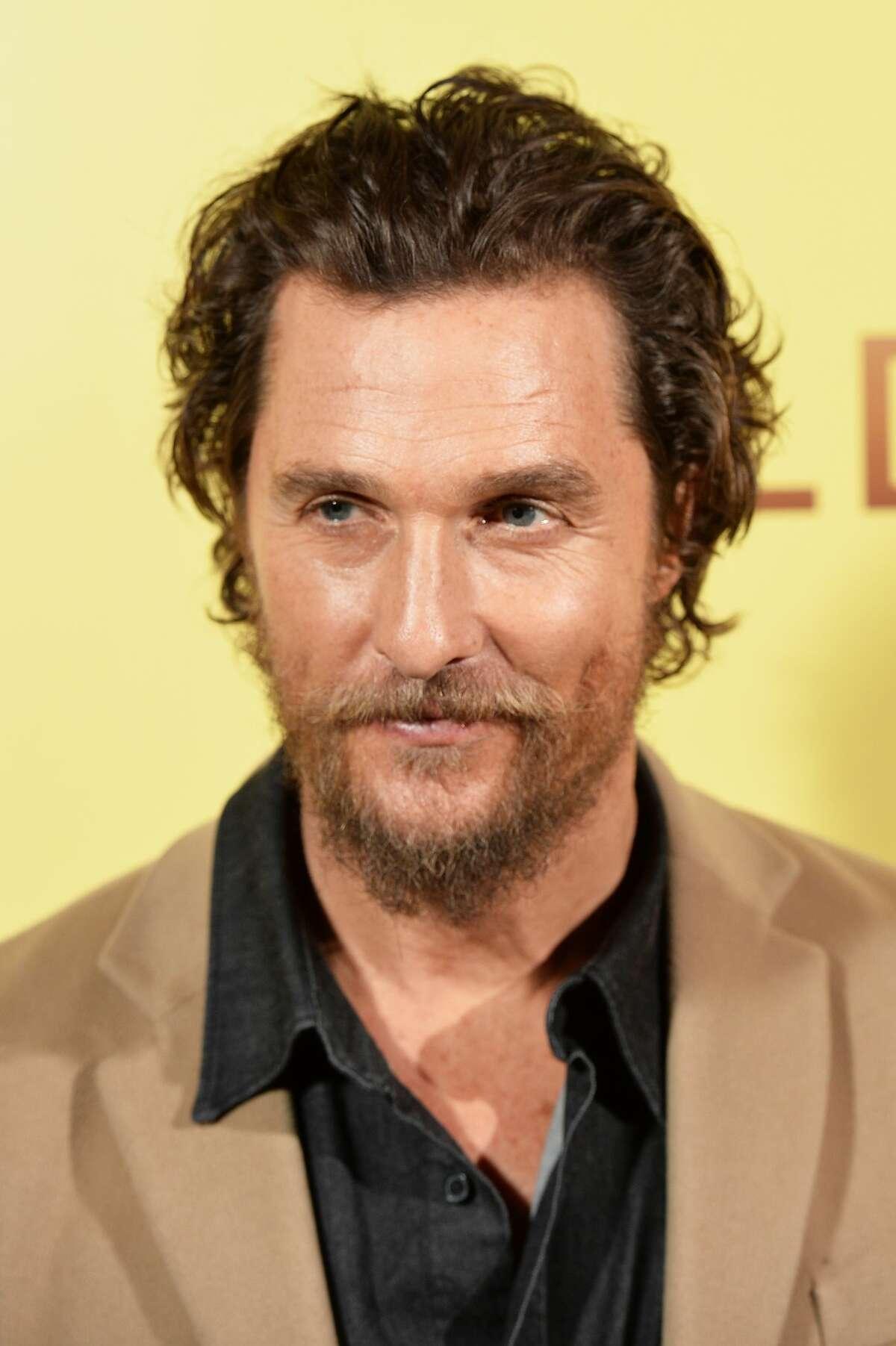 Matthew McConaughey b. 1969 Texas connection: Born in Uvalde, University of Texas grad, lives in Austin Coolness factor: