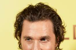 "LONDON, ENGLAND - JANUARY 20: Matthew McConaughey attends the screening of the film ""Gold"" at Ham Yard Hotel on January 20, 2017 in London, England.  (Photo by Dave J Hogan/Getty Images)"