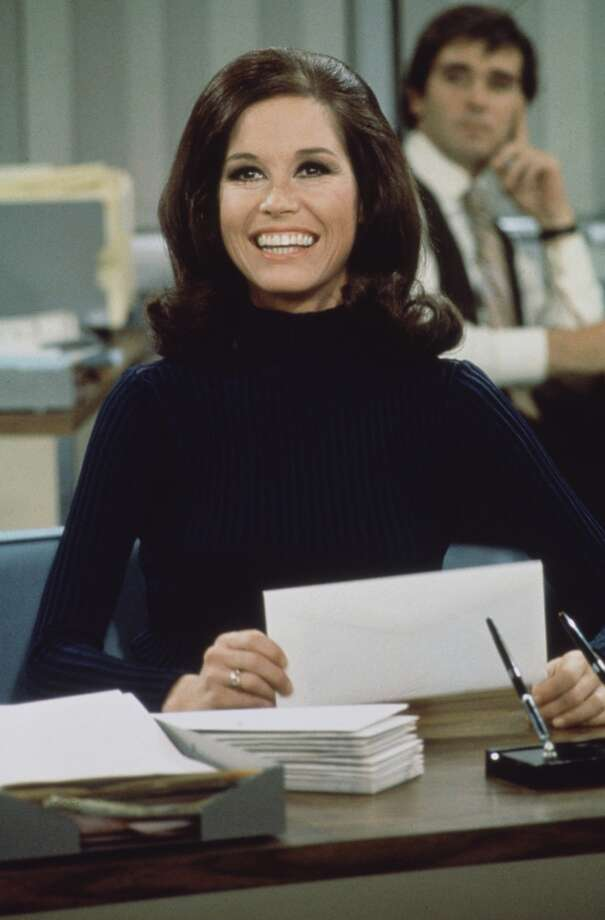 "Mary Tyler Moore as Mary Richards on ""The Mary Tyler Moore Show,"" 1970. Photo: CBS Photo Archive/Getty Images"