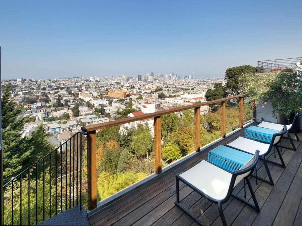 On a quiet cul-de-sac above Dolores Park, this jewel box of a home at 340 Cumberland is on the market for $2.995 million.