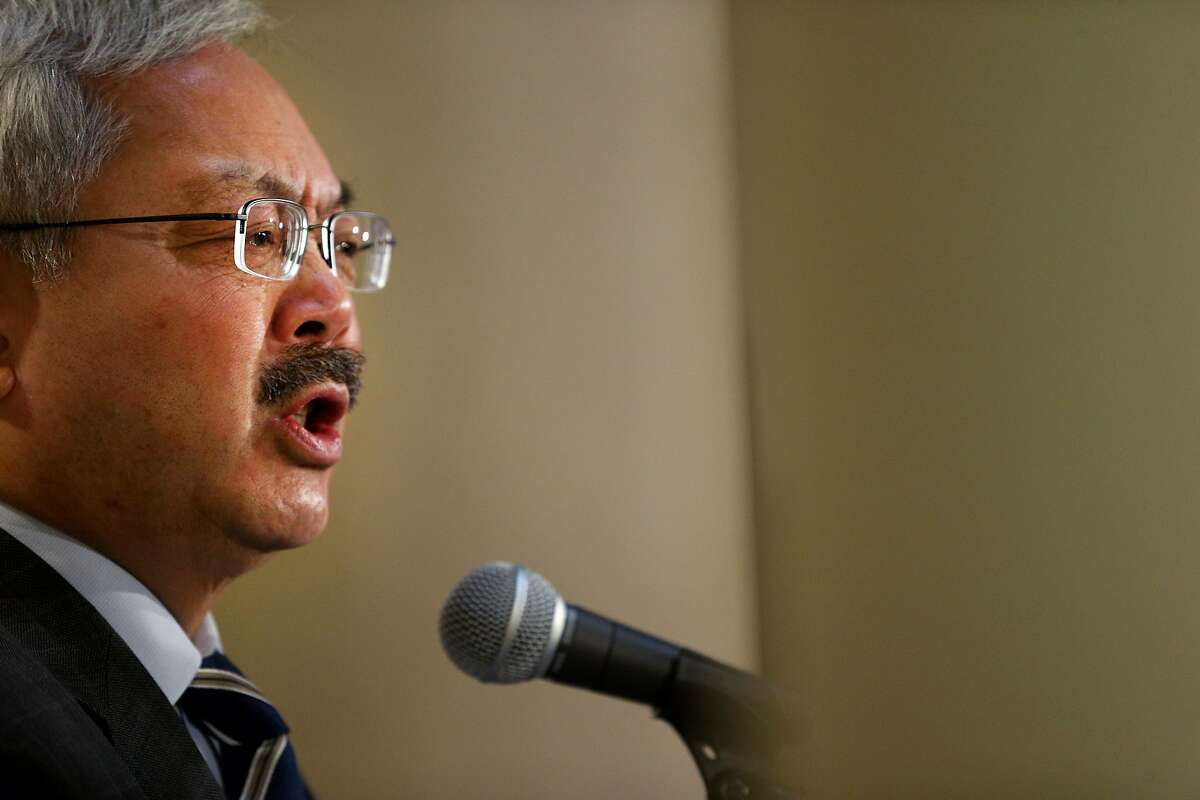 San Francisco, California Mayor Ed Lee rebuked the president's executive order during a press conference on Wednesday, Jan. 25, stating: