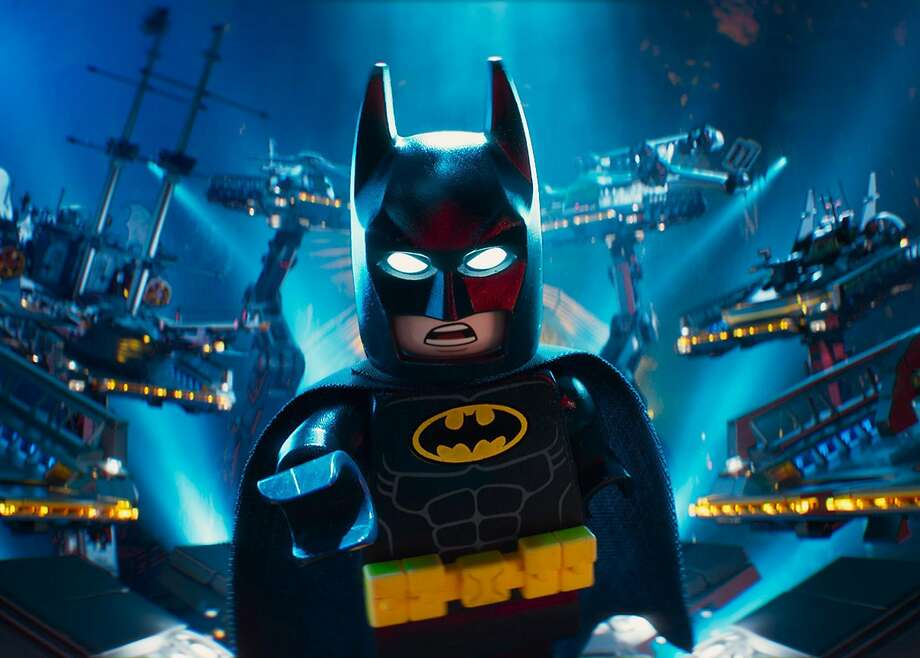 "Clockwise from above: The Caped Crusader in ""The LEGO Batman Movie."" The villainous Joker. Zach Galifianakis voices the Joker. Will Arnett is the voice of Batman. Photo: Warner Bros."