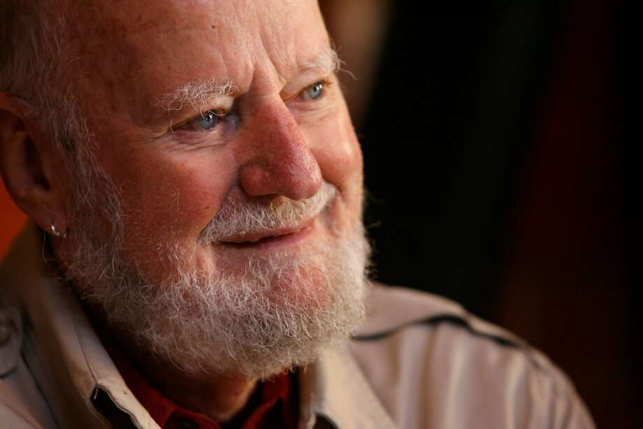 Lawrence Ferlinghetti, co-founder of City Lights Bookstore. Photo: Deanne Fitzmaurice, The Chronicle