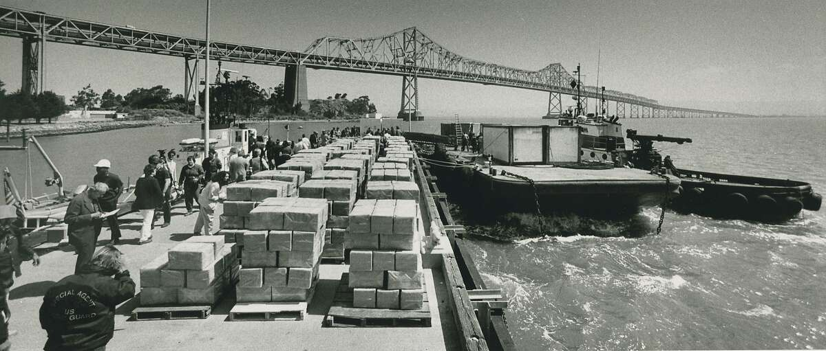 May 24, 1988: Marijuana/hashish seizure, the largest in U.S. history at that time, made in the San Francisco Bay.