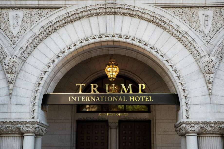 """AES says in a lawsuit against the Trump Organization that it bore increased expenses during the renovation of the historic Old Post Office building in Washington because of change orders and other demands. The Trump International Hotel held a """"soft opening"""" before the election. Photo: Zach Gibson /AFP /Getty Images / AFP or licensors"""