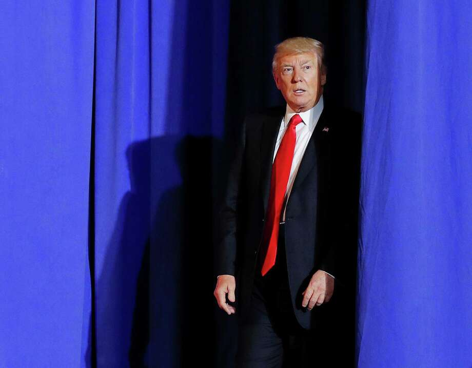 President Donald Trump walks out as he is introduced before speaking at the Homeland Security Department in Washington, Wednesday, Jan. 25, 2017. Photo: Pablo Martinez Monsivais, AP / Copyright 2017 The Associated Press. All rights reserved.