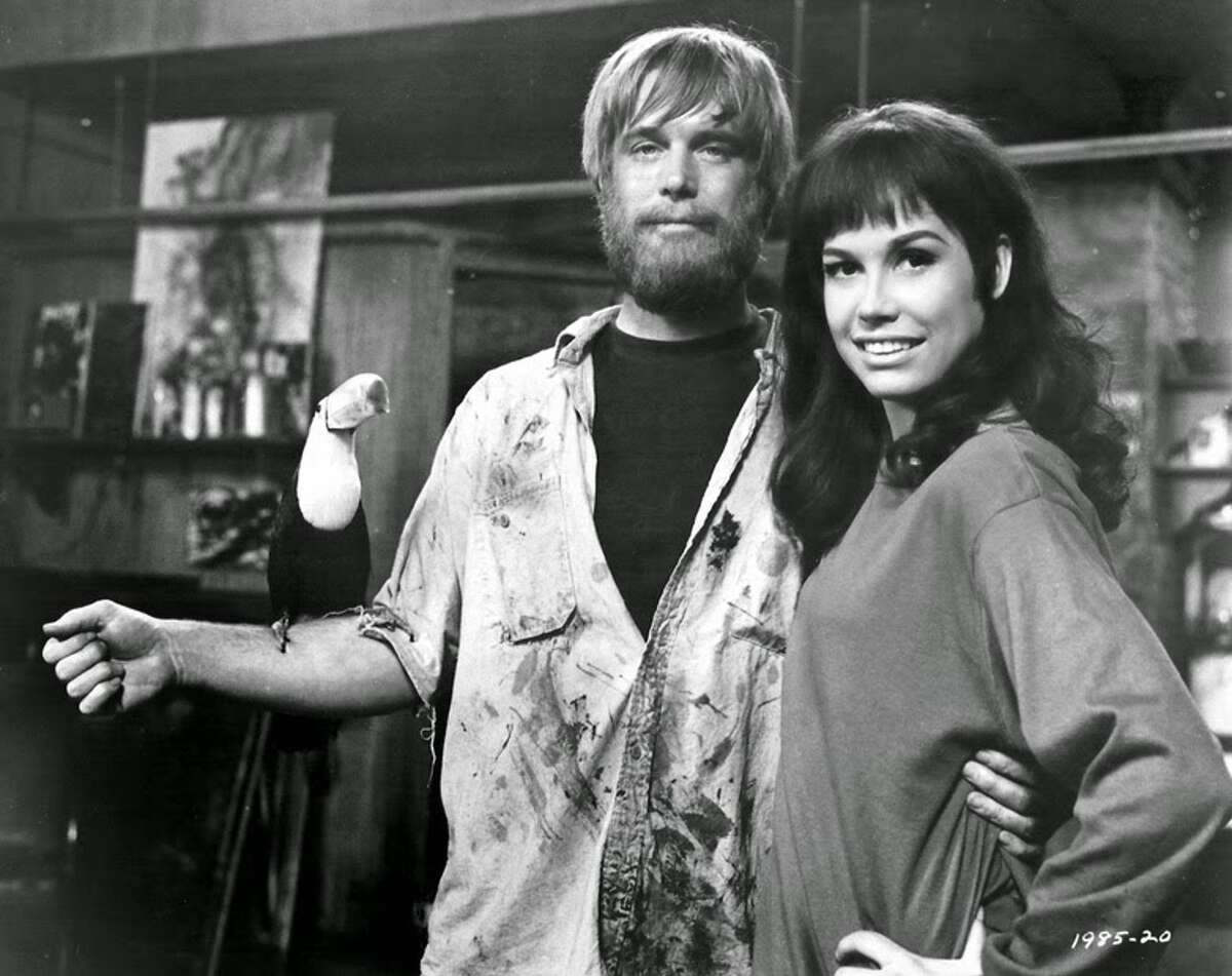 With George Peppard