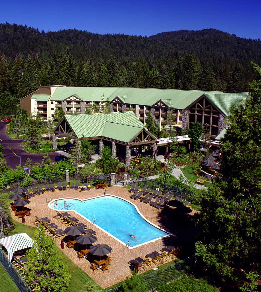 Tenaya Lodge Is Just Outside The Yosemite National Park Boundary Near Wawona John Flinn