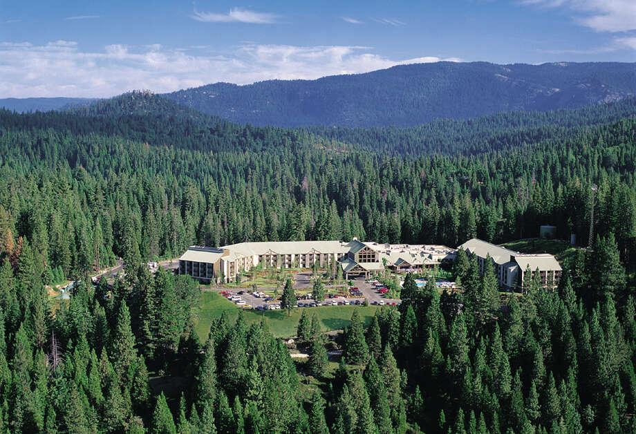 Tenaya Lodge is just outside the Yosemite National Park boundary near Wawona. (John Flinn/The Chronicle)