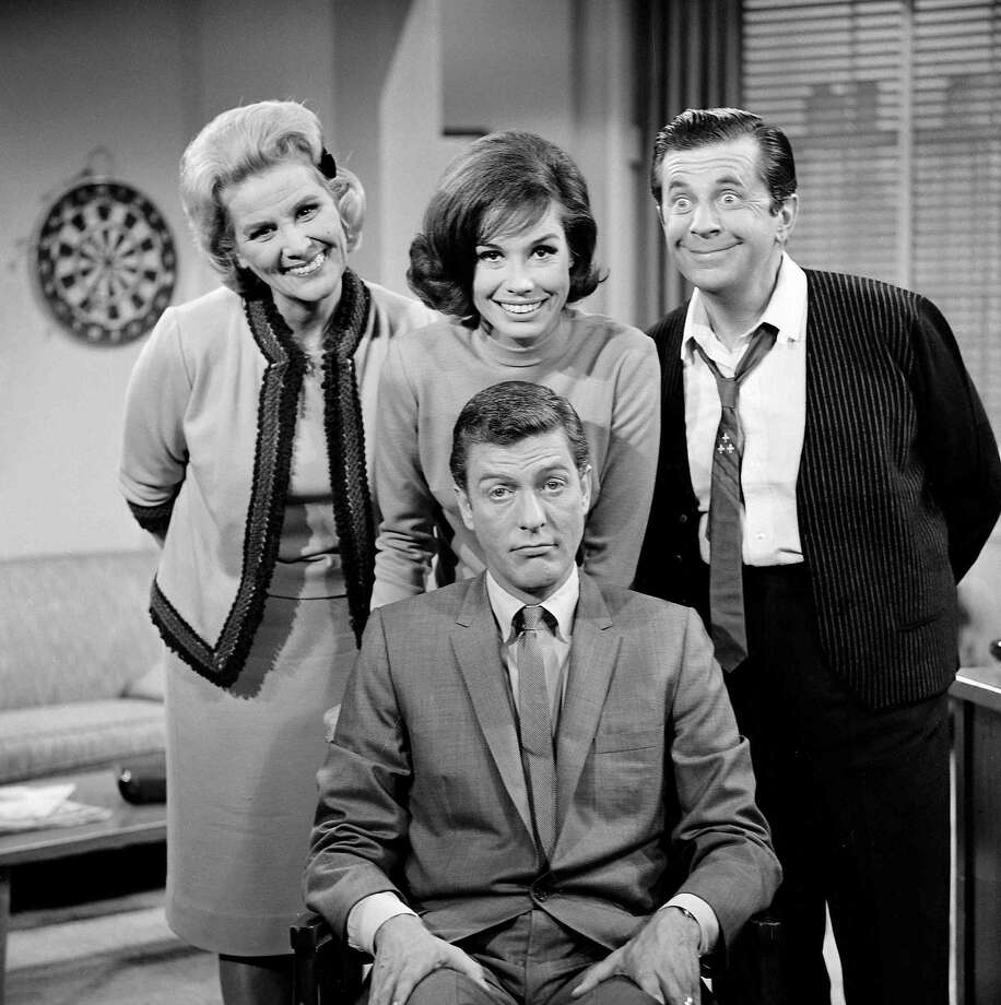 "Rose Marie (back left) was thrice nominated for the best supporting actress Emmy for ""The Dick Van Dyke Show."" Photo: CBS"
