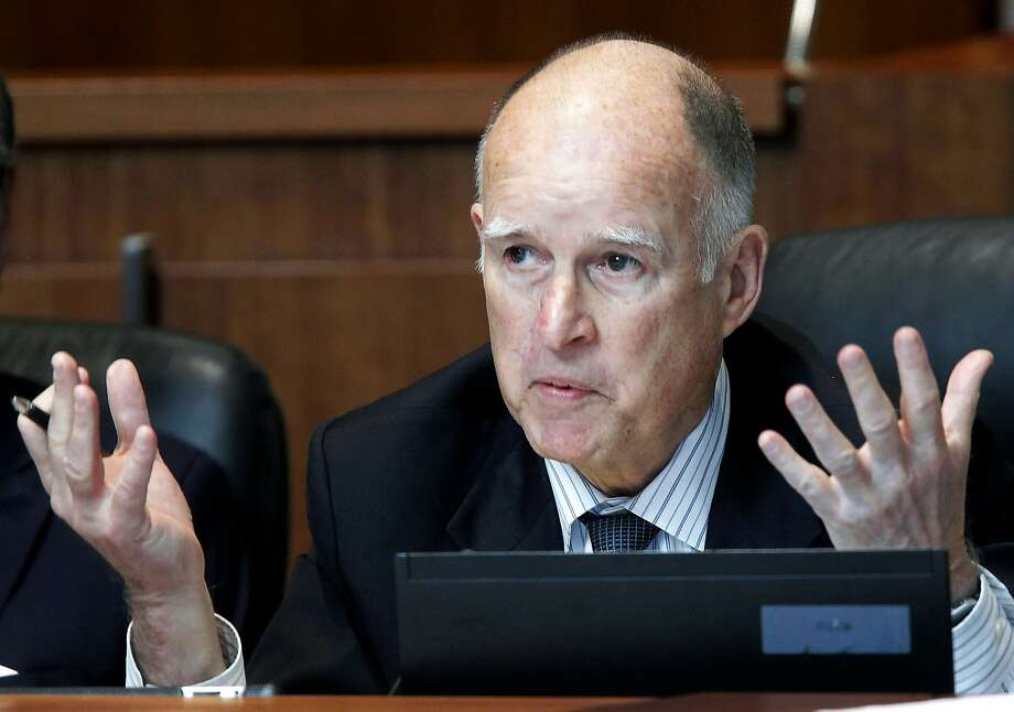 California State University tuition has remained unchanged since 2012 under a deal with Gov. Jerry Brown, above. Photo: Nick Ut, Associated Press