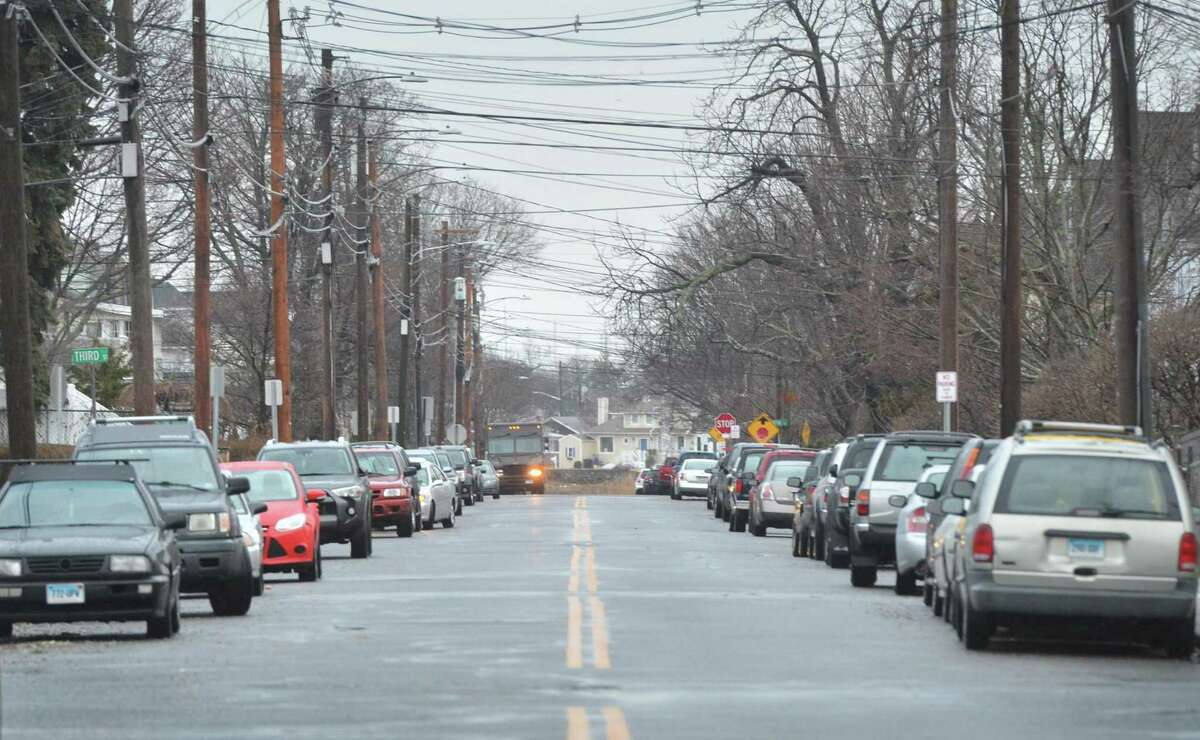 Cove Ave. at the intersection of Seaview Ave. on Tuesday January 24, 2017 in Norwalk Conn.. The Norwalk River Valley Trail Steering Committee is looking for approval to paint bike lanes and sharrows along Seaview Avenue and Cove Ave. to East Avenue to complete NRVT trail link to Calf Pasture Beach