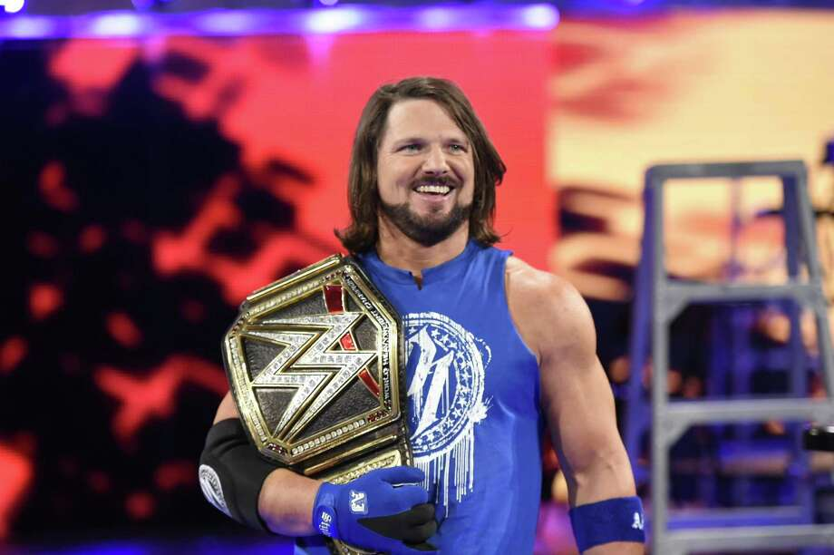 A.J. StylesMeet-and-greet at Toys R Us, 321 NW Loop 410 Jan. 29 at 10 a.m.  Photo: Courtesy WWE