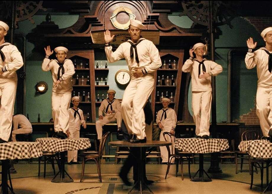 "Channing Tatum danced the ""No Dames"" scene in ""Hail, Caesar!"" Photo: Universal"
