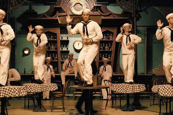 """Tatum on tap Accomplished film dancer Channing Tatum picked up tap for the hilarious throwback """"No Dames"""" number in the Coen Brothers' """"Hail, Caesar!"""" The scene's ingenuity should be honored. Photo courtesy Universal Studios Home Entertainment."""