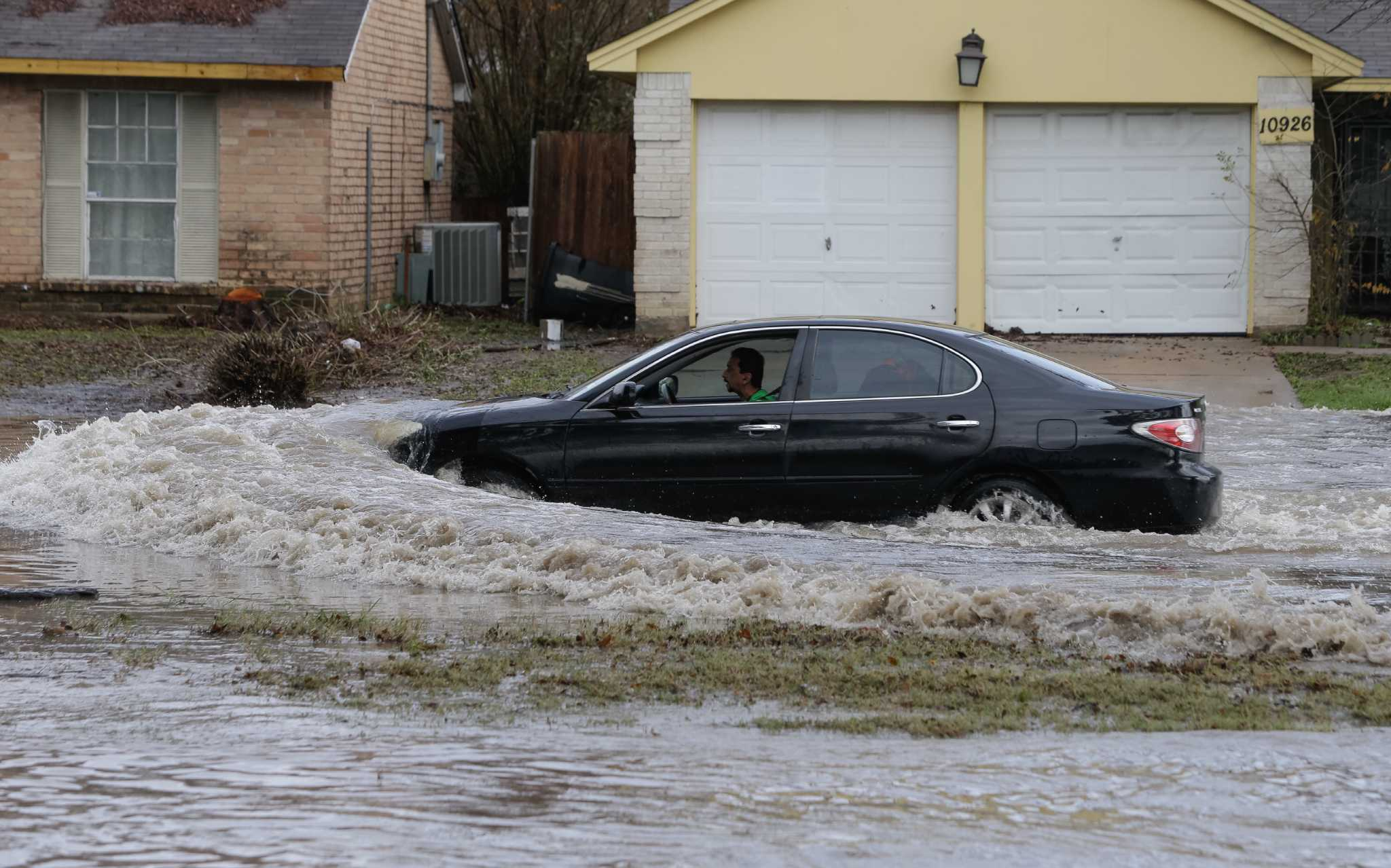 Houston streets that are prone to flooding