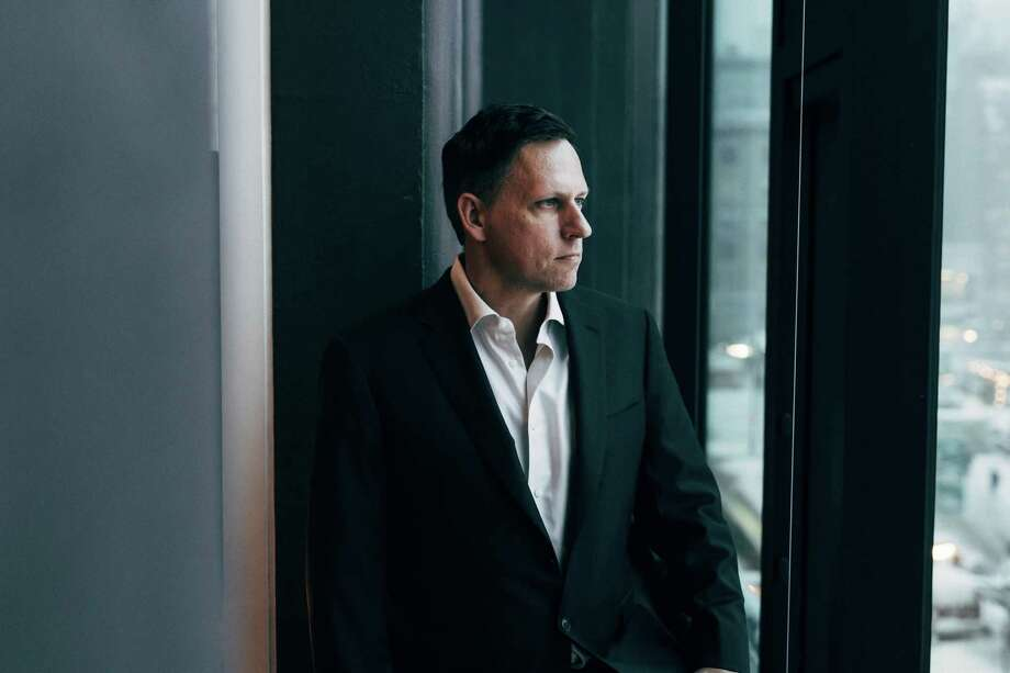 FILE-- Peter Thiel in his condo in Manhattan, Jan. 7, 2017. The news that Thiel, a billionaire who advises President Donald Trump, has New Zealand citizenship set off a furor in the island nation over questions of special treatment. (Andrew White/The New York Times) Photo: ANDREW WHITE, STR / NYTNS