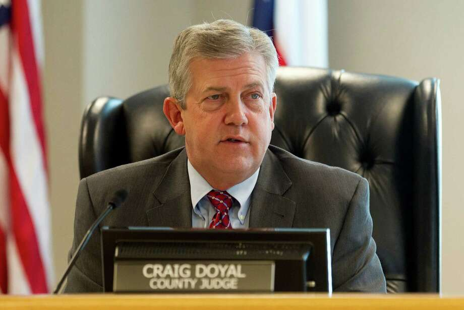 Montgomery County Judge Craig Doyal speaks during Montgomery County Commissioners Court at Alan B. Sadler Commissioners Court Building Tuesday, Jan. 10, 2017, in Conroe. Photo: Jason Fochtman, Staff Photographer / Houston Chronicle