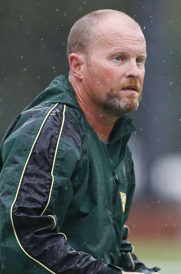 Cy Falls head football coach Kirk Eaton. Photo: Diana L. Porter, Freelance / © Diana L. Porter