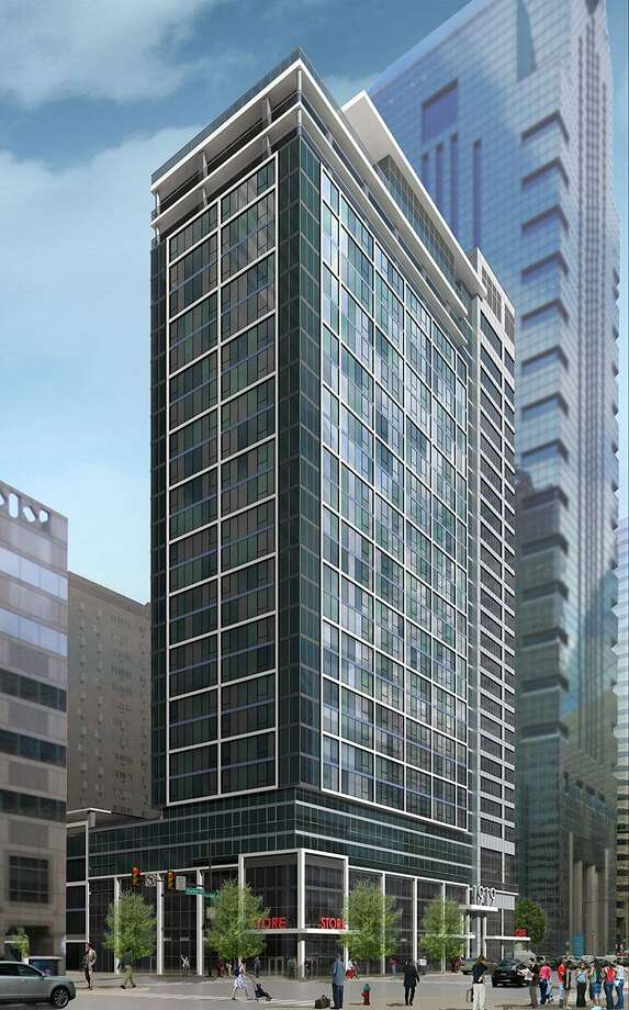 1919 Market Street, Philadelphia, PA: a 460,000 SF new mixed-use high-rise apartment building on a 0.78 acre previously vacant lot. The building includes a 28-story tower with 321 rental housing units, first floor retail, second floor office use, two penthouse levels, a full floor of indoor and outdoor amenities, and an attached 5-level parking garage with 215 spaces. The resulting collaborative and distinctive contemporary design of 1919 in harmony with its surroundings will be a dynamic addition to the city skyline. Photo: Barton Partners / Contributed Photo / Westport News