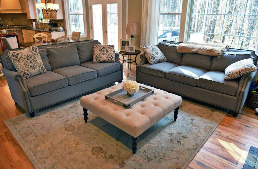 Jodi Emmonsu0027 Three Seat Transitional Couches, She Loved It So Much That She