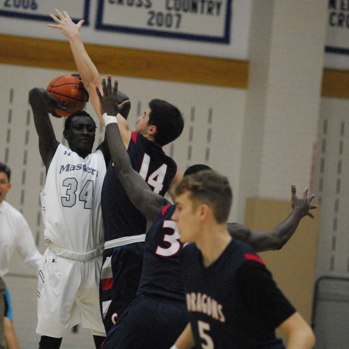 Action from GFA's 68-54 win over Masters Wednesday.