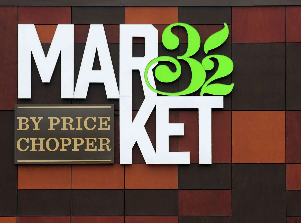 The logo on the front of the Market 32Wednesday Nov. 30, 2016 in Clifton Park, N.Y. (Skip Dickstein/Times Union)