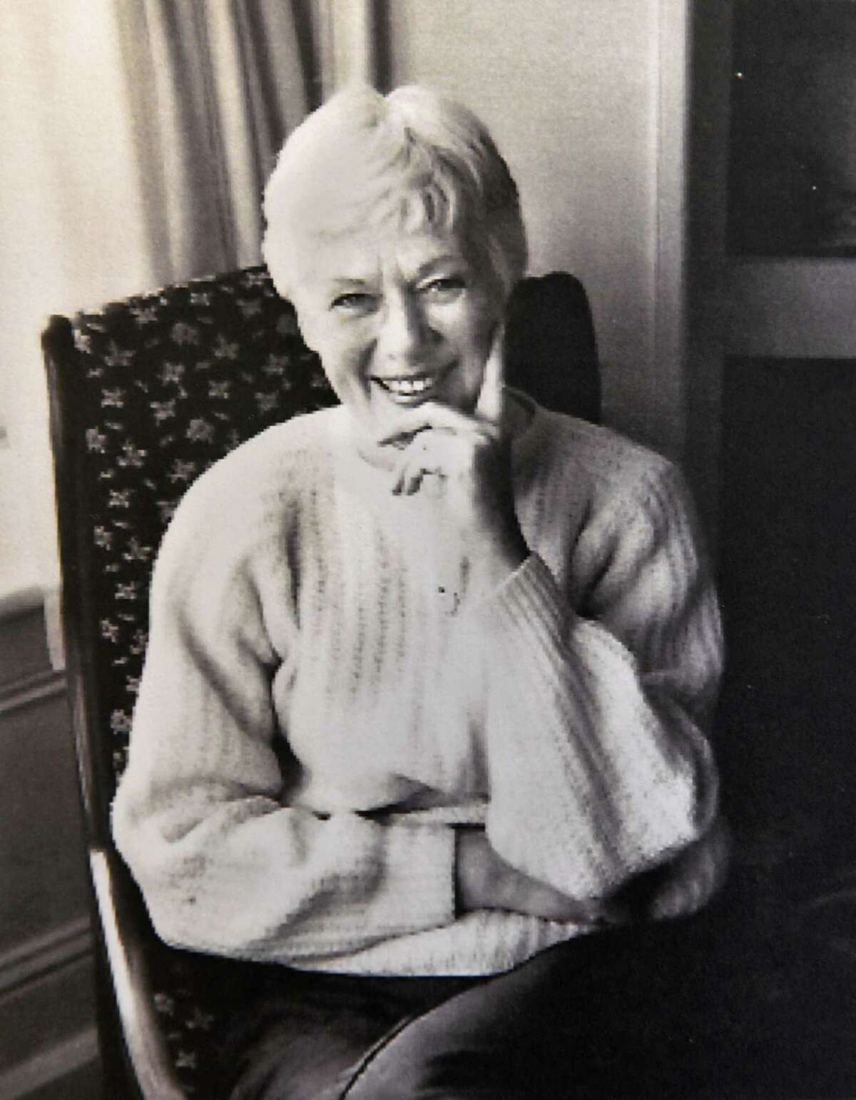 Photo courtesy of Deane Semerad Pfeil: An undated family photo of Marjorie Semerad, a popular Russell Sage College art professor. A retrospective art show of her work opens on Troy Night Out at Clements Art in Troy, NY.