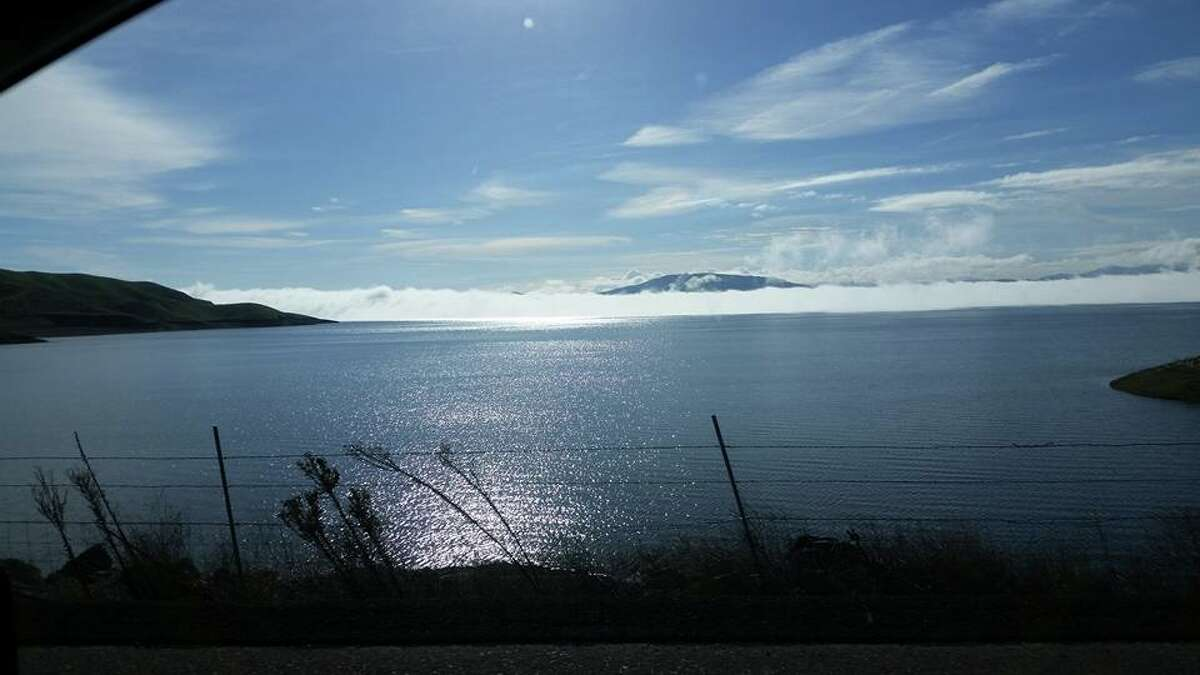 San Luis Reservoir at 79 percent of capacity on Jan. 24, 2017.