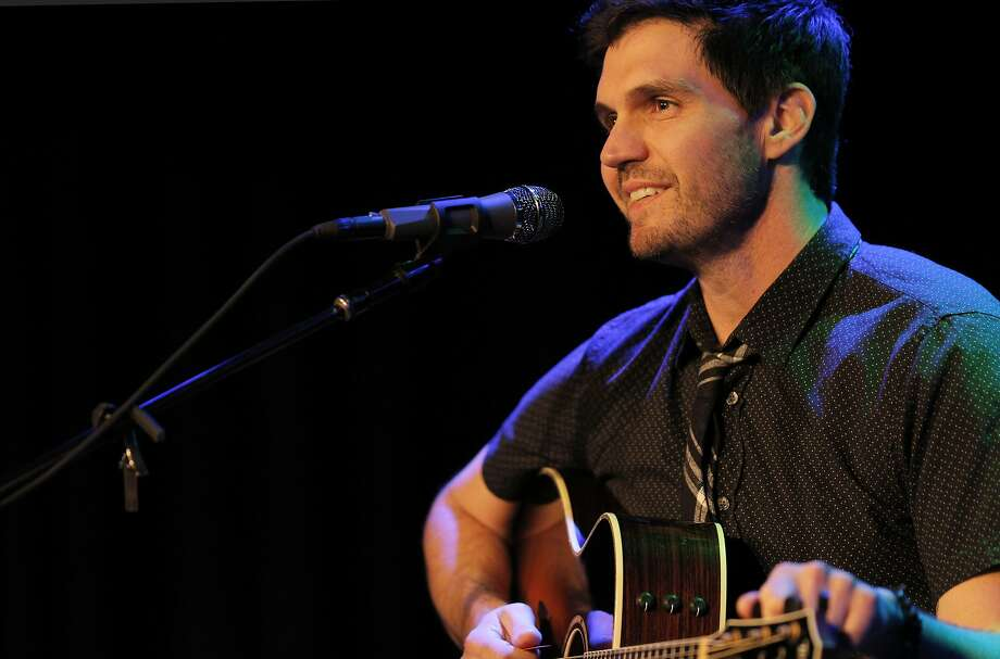 Barry Zito performs at the Sweetwater Music Hall in Mill Valley, Calif., on Wednesday, January 25, 2017. The former Oakland Athletics and San Francisco Giants pitcher has a new, post-pitching career in music, writing songs and performing. Photo: Carlos Avila Gonzalez, The Chronicle
