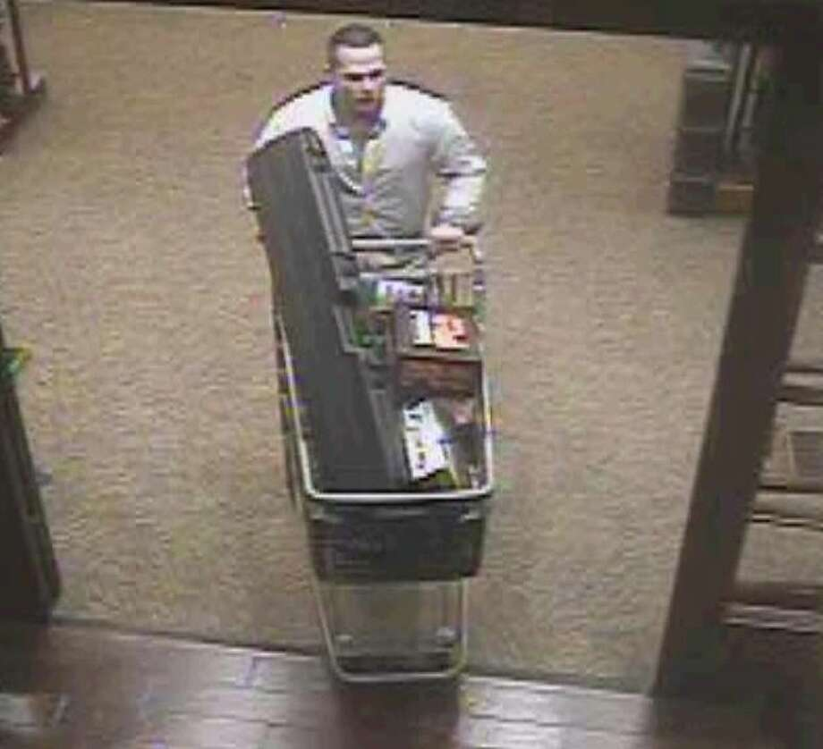 Fort Worth police are looking for a man who they say stole an estimated $1,400 worth of items from Cabela's on Jan. 21, 2017. Photo: Courtesy/Fort Worth Police Department
