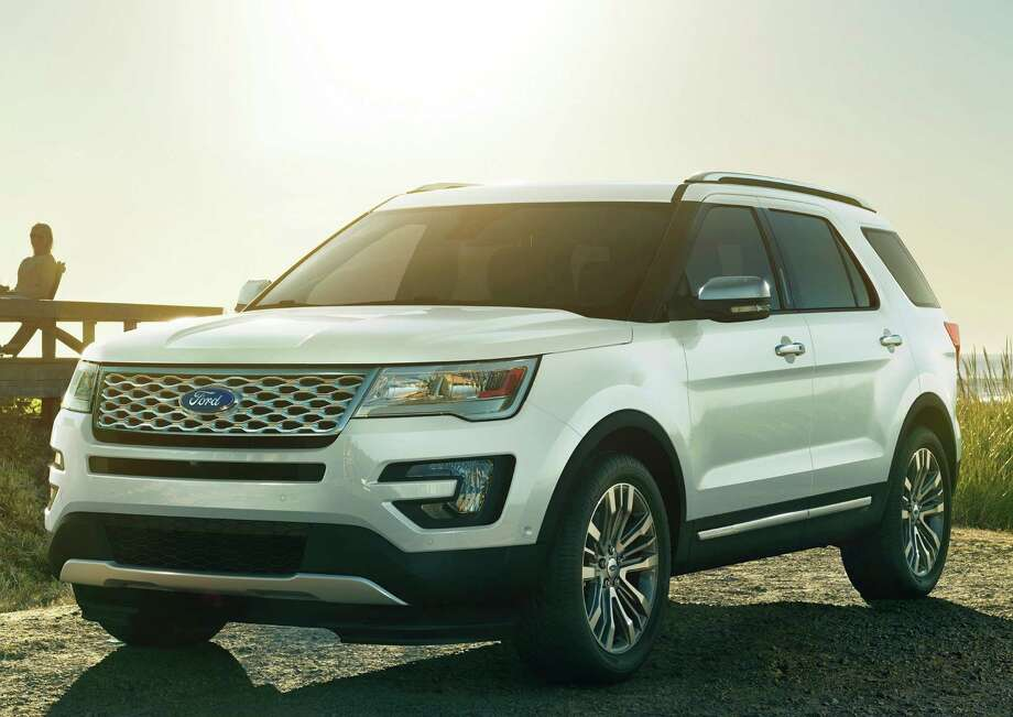 Ford added the Platinum model to the Explorer lineup for 2016 as the high-end trim line. It includes such features as a 3.5-liter EcoBoost turbocharged V-6 engine and four-wheel drive. Photo: Ford Motor Co.
