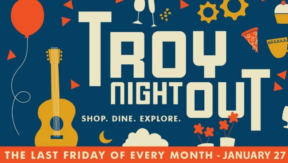 Troy Night Out.  The theme is 'ready, set, re-invent'.