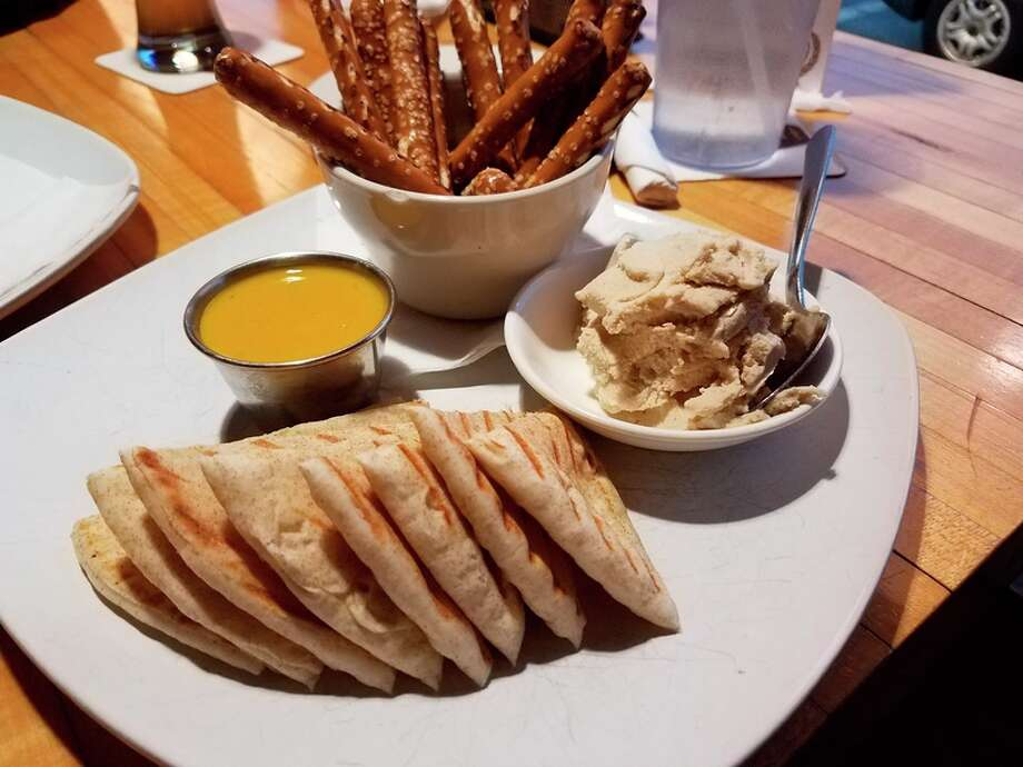 Photo by Matthew Woods IPA Honey Dijon and Beer Cheese Spread at Whichcraft Taproom, located at 124 Ashman St. in downtown Midland.