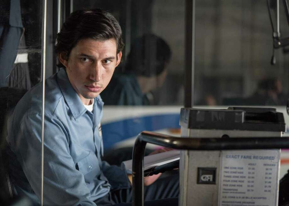 """Adam Driver plays a bus driver named Paterson in """"Paterson."""" Is there an echo in here? Photo: Amazon Studios / Online_yes"""